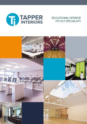 Tapper Interiors Schools Brochure