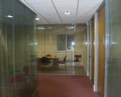 Tapper Interiors Top 100 Accountancy Firm - Office partitions