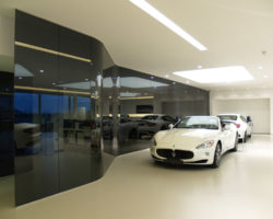 Tapper Interiors - Ferrari Internal Refurbishment